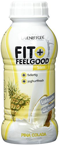Diät Shakes-Layenberger Fit+Feelgood Slim-Shake Mahlzeitersatz Pina Colada, 6er Pack