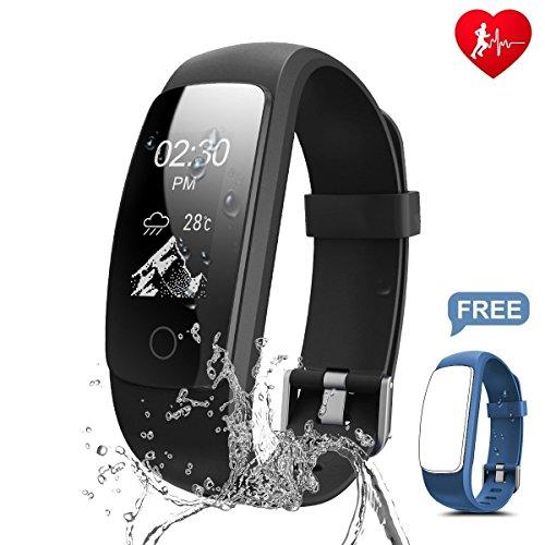 Chianruey Fitness Armband mit Herzfrequenz-Fitness Tracker