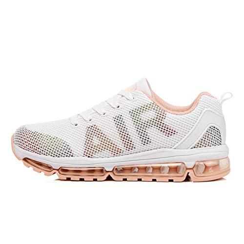 Axcone Damen Herren Sneaker Laufschuhe Air Sportschuhe Turnschuhe Running Fitness Sneaker Outdoors Straßenlaufschuhe Sports – WT 39EU
